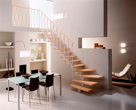 Escaleras barandillas y pasamanos fusteria berruezo for Pasamanos de escaleras interiores