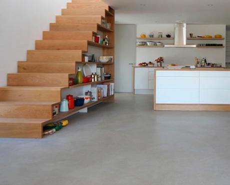 escalera_interior madera estantes 460x370 - Barandillas Escaleras Interiores